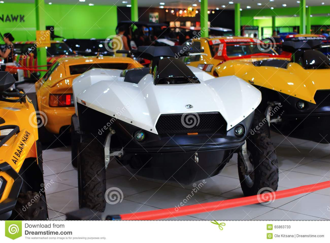 Supercar Showroom Editorial Stock Photo Image