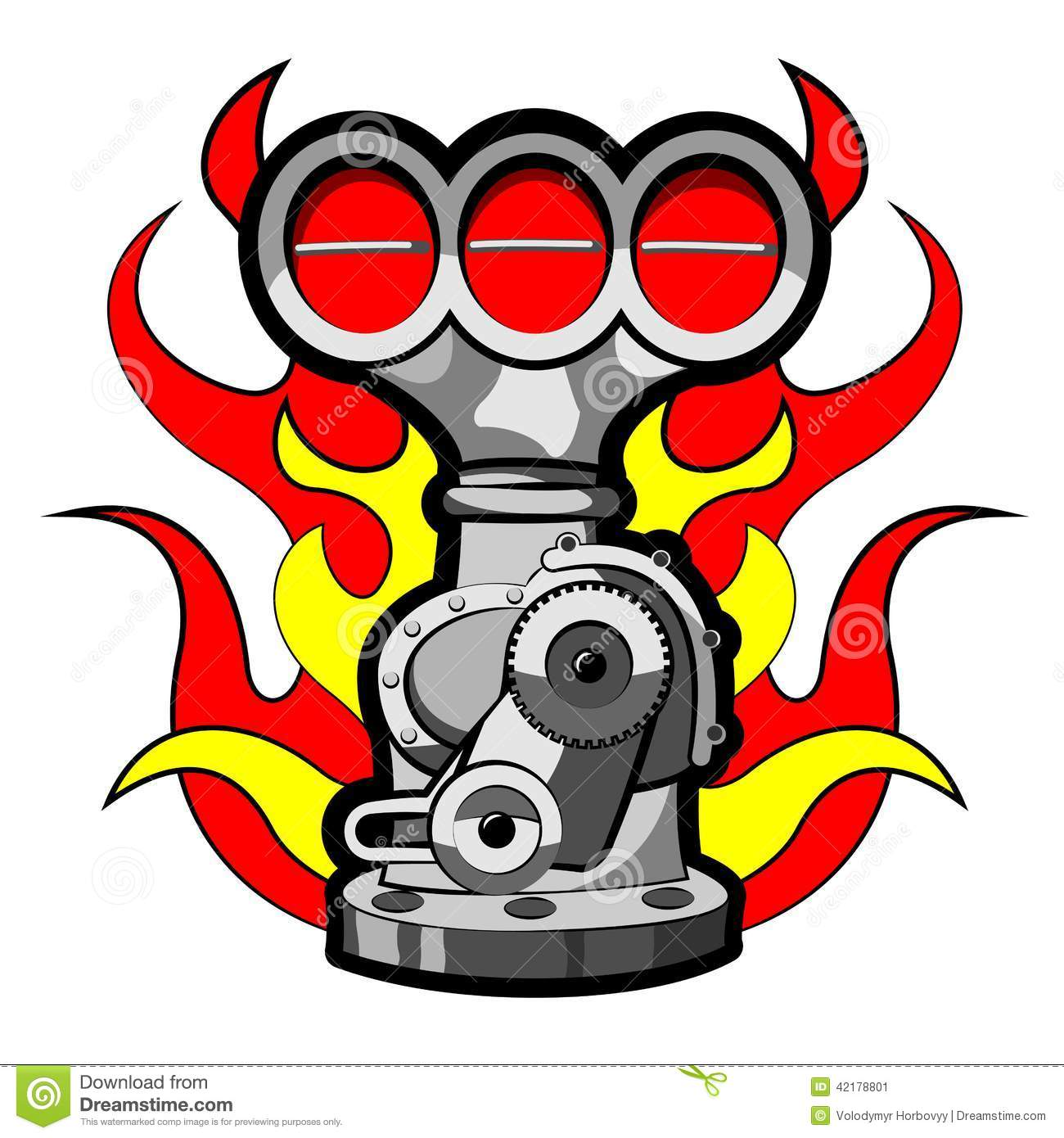 Gear Car Tattoo >> Supercharger Stock Vector - Image: 42178801