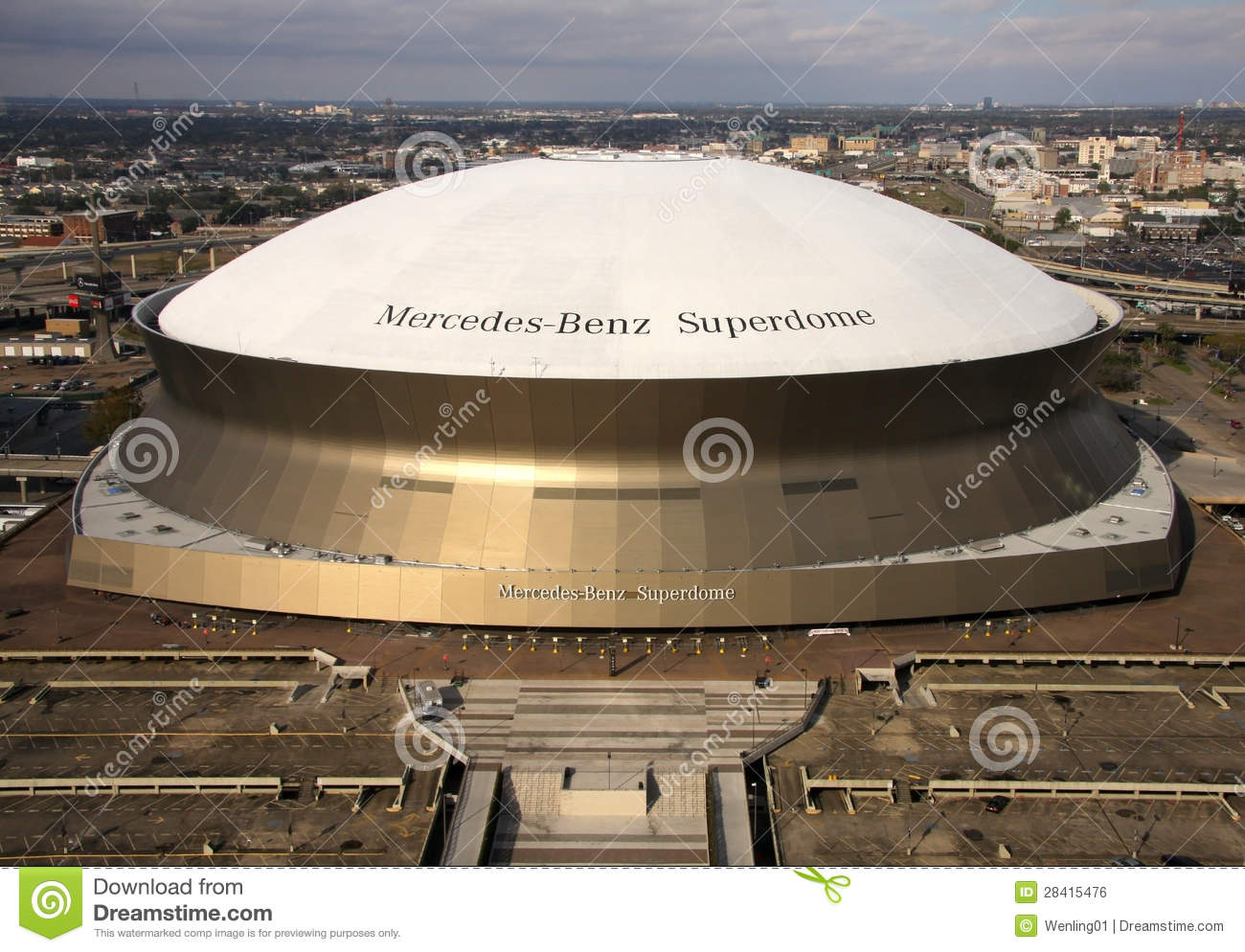 Superdome in New Orleans