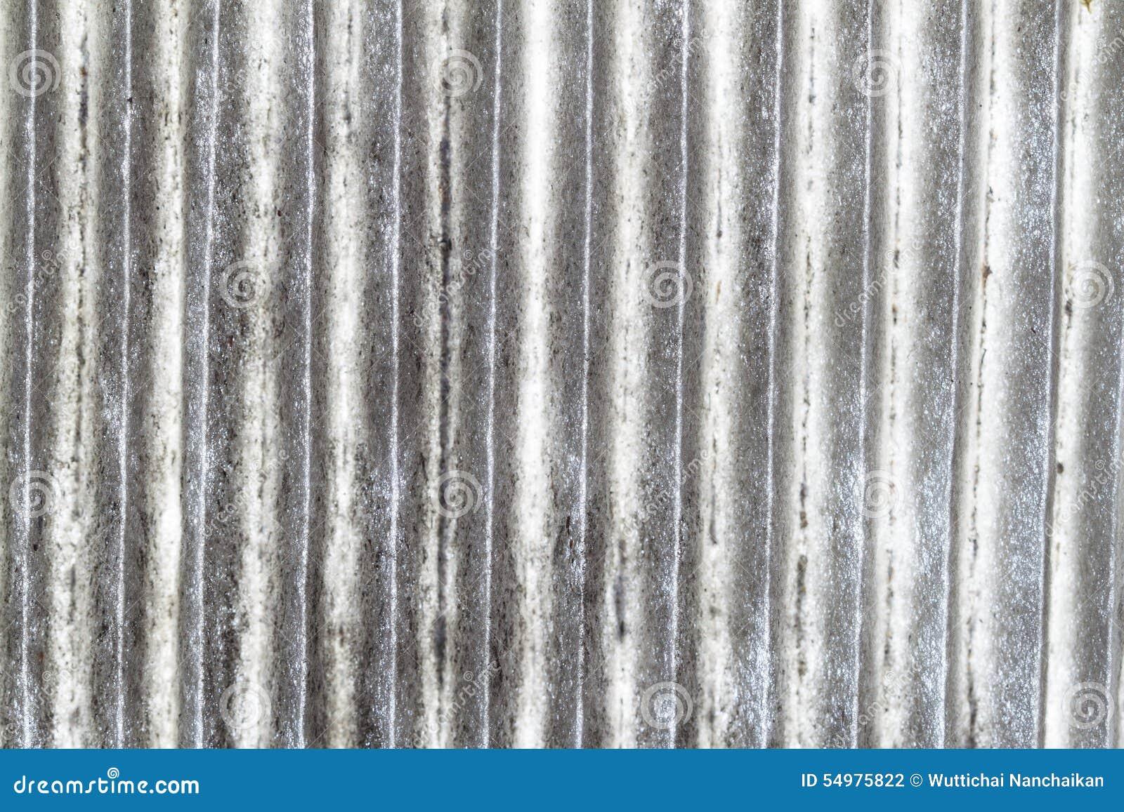 Superfície do filtro de ar