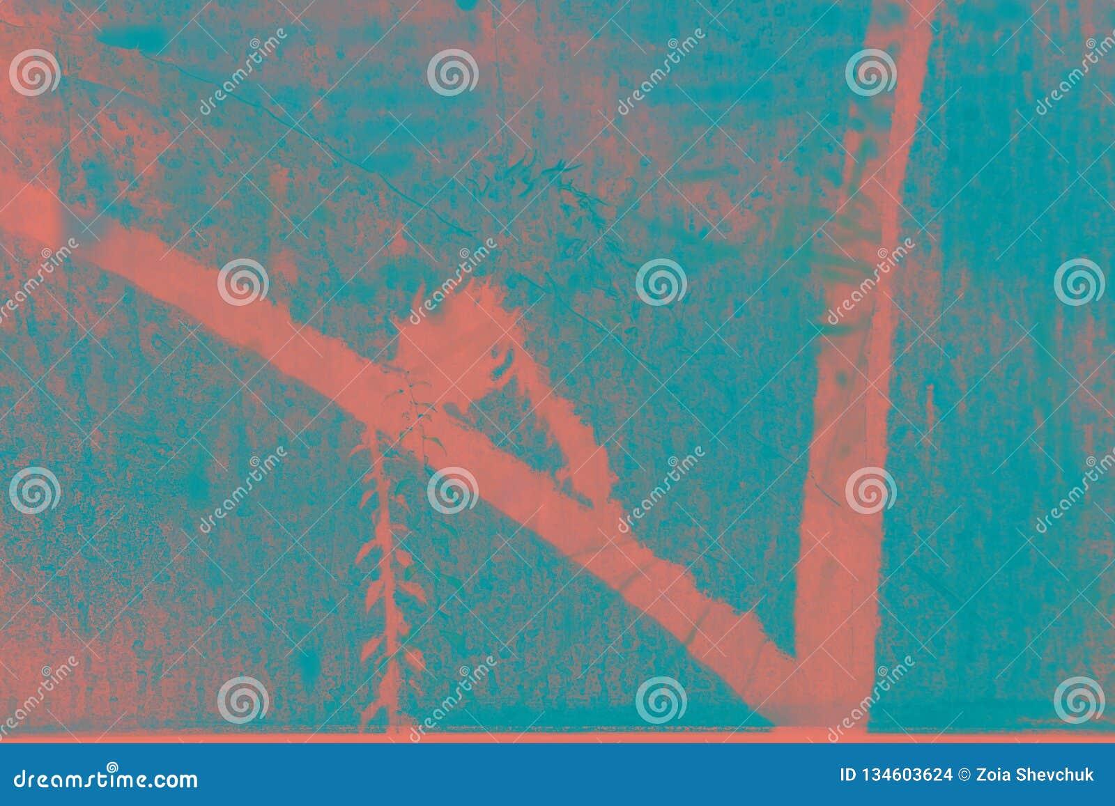 Superfície textured tropical na cor do coral de vida