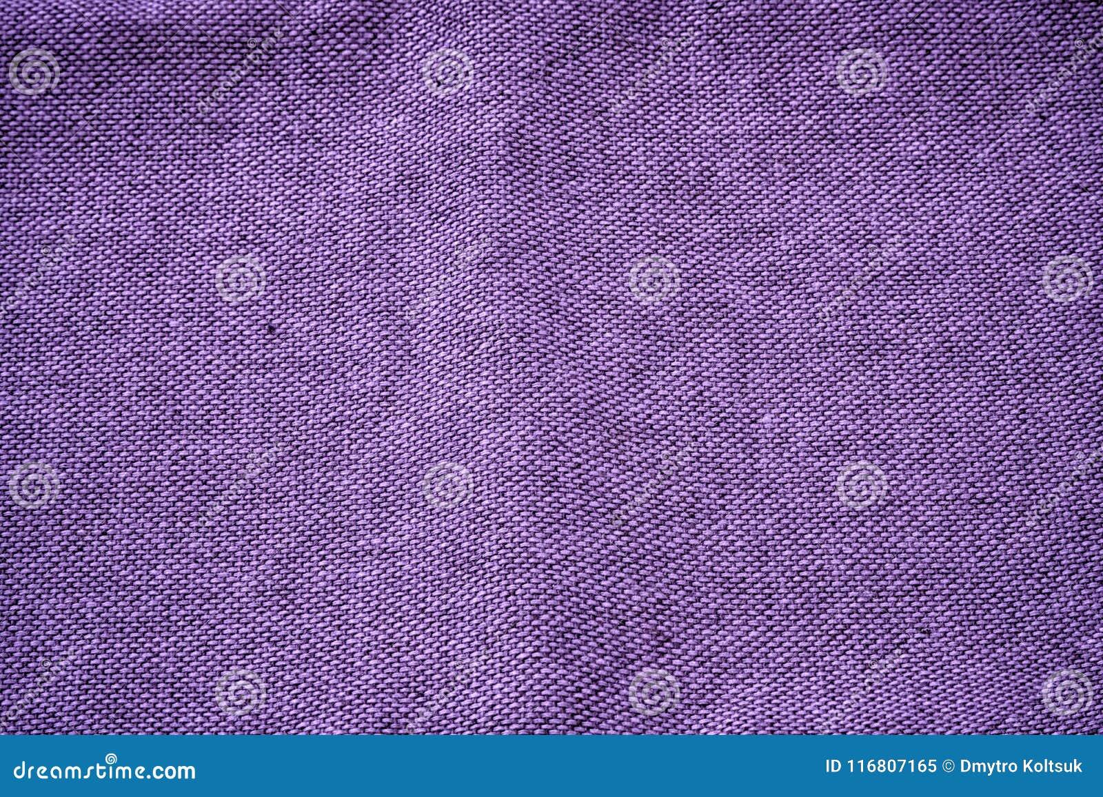 Superficie di tela ultra porpora del tessuto per uso del progettista o del modello, campione, campione della copertina di libro