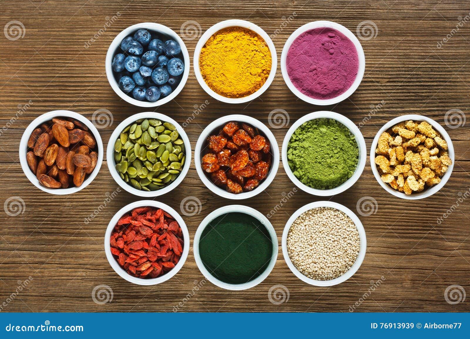Superfood stock image. Image of superfood, food, acai ...