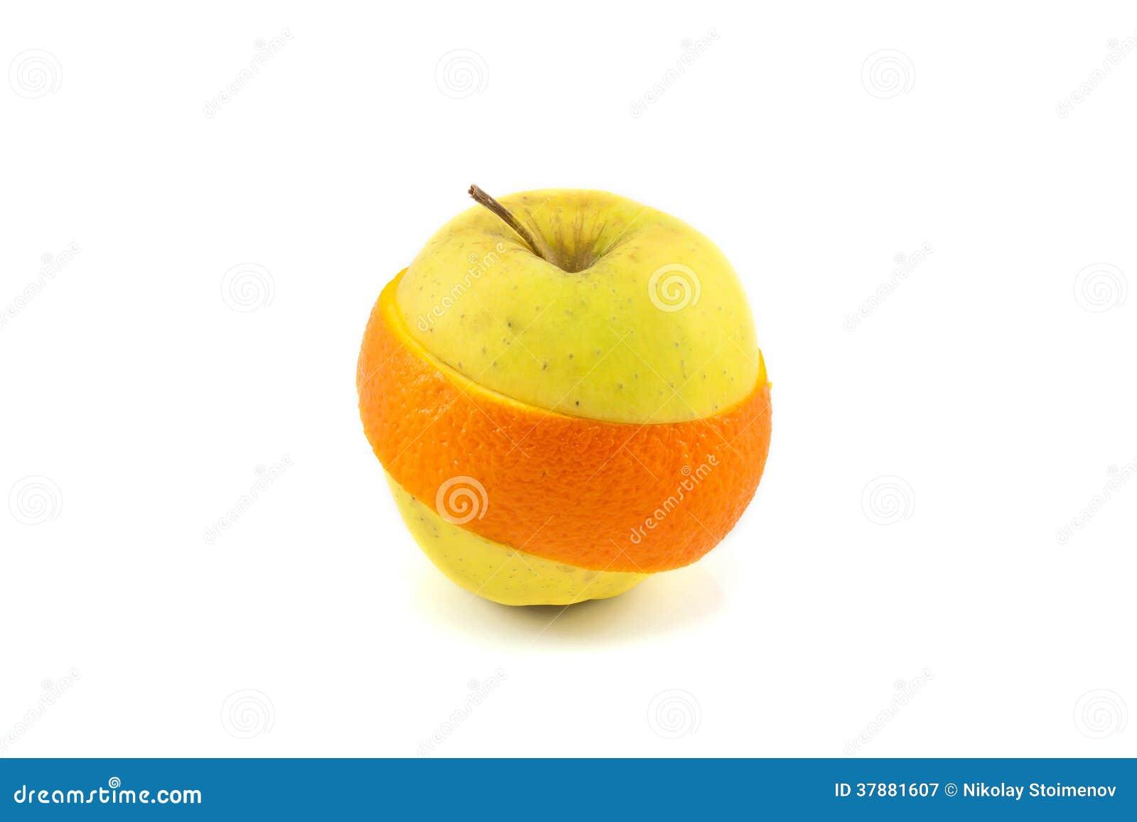 Superfruit - appel en oranje combinatie