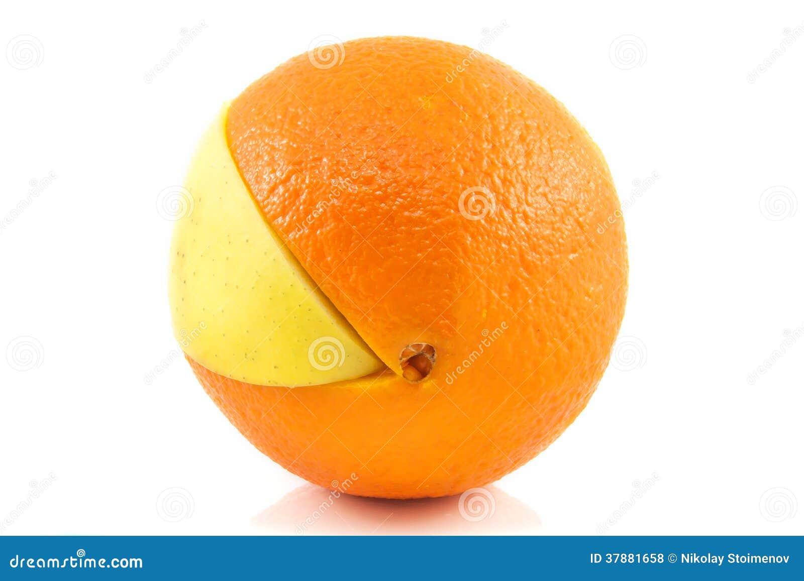Superfruit - appel en sinaasappel