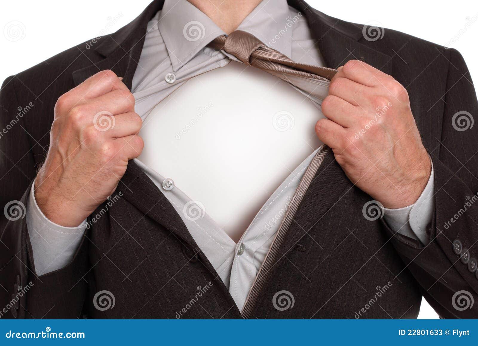 Superheldgeschäftsmann