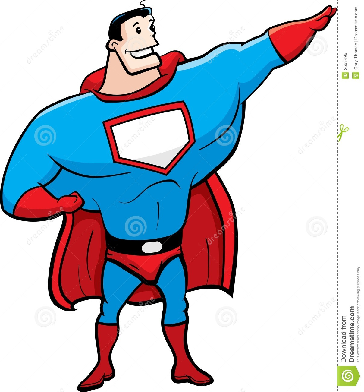 superhero stock vector illustration of super superhero 2668496
