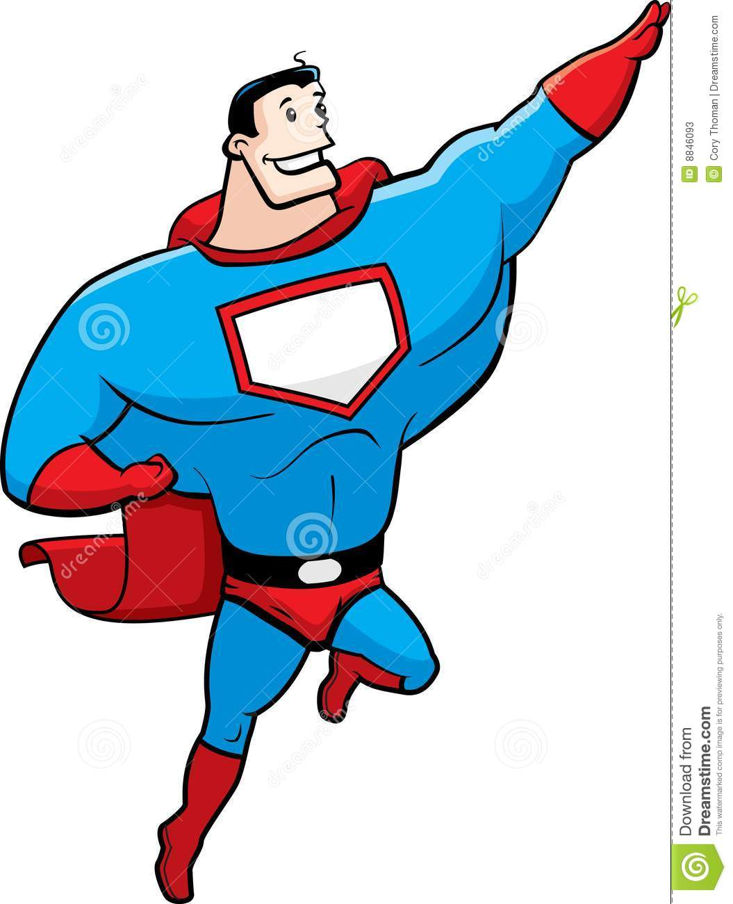 Superhero Stock Photos  Image: 8846093
