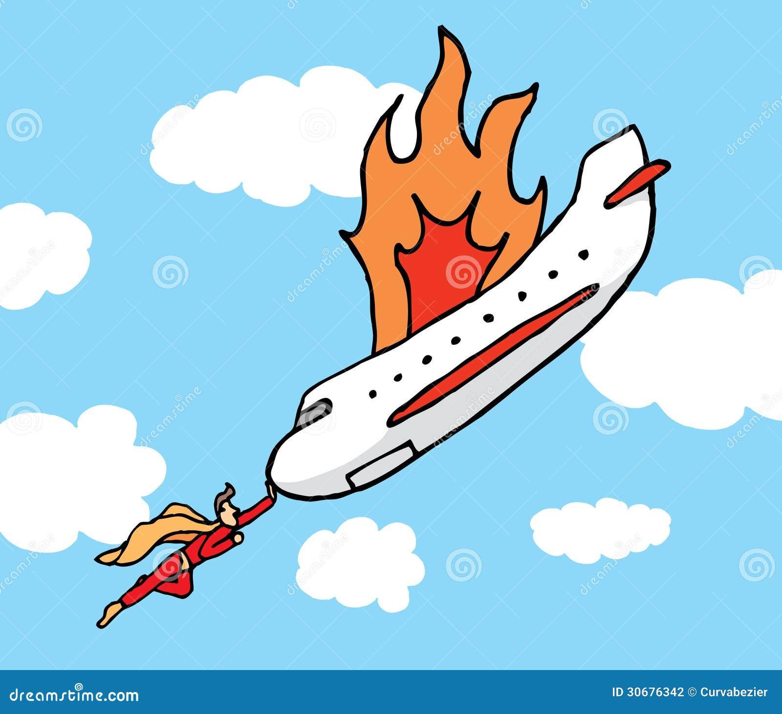The Plane Super Hero