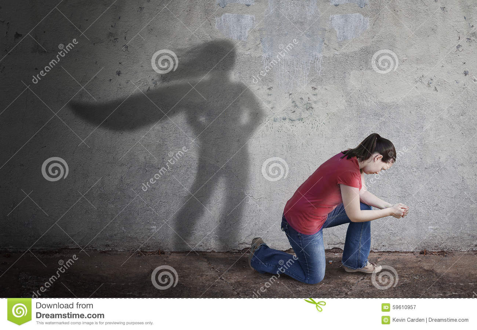 Superhero Shadow
