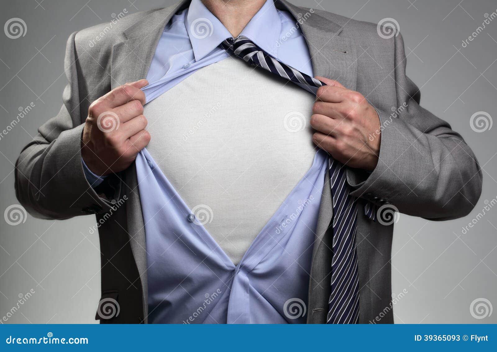 Superheroaffärsman