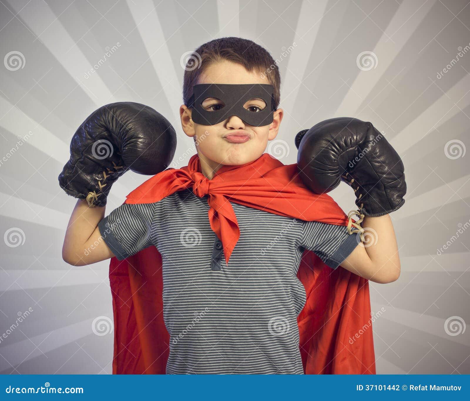 Superherojong geitje
