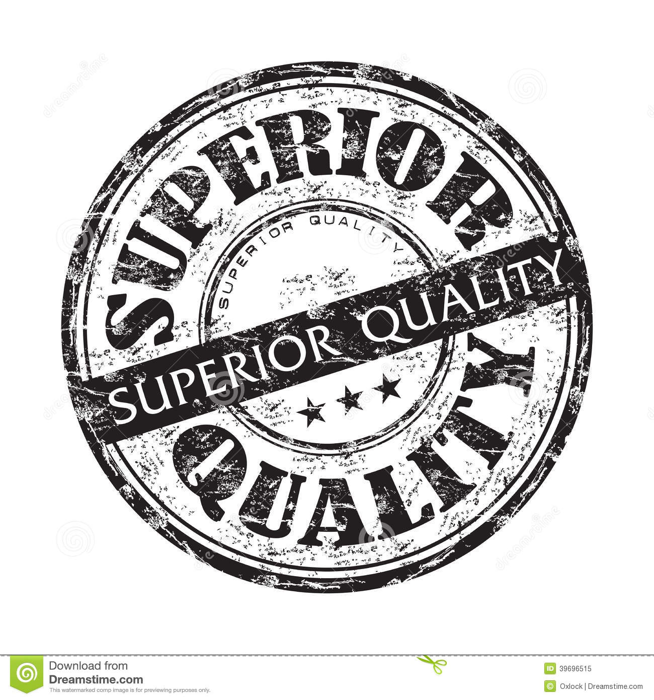 superior quality grunge rubber stamp stock vector
