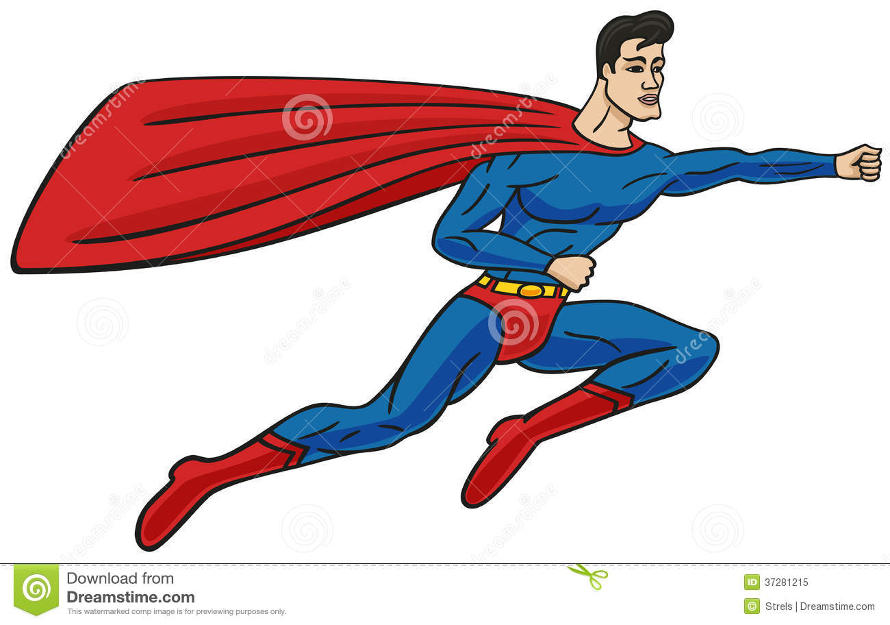 Superman stock vector illustration of speed male design 37281215 superman voltagebd Image collections