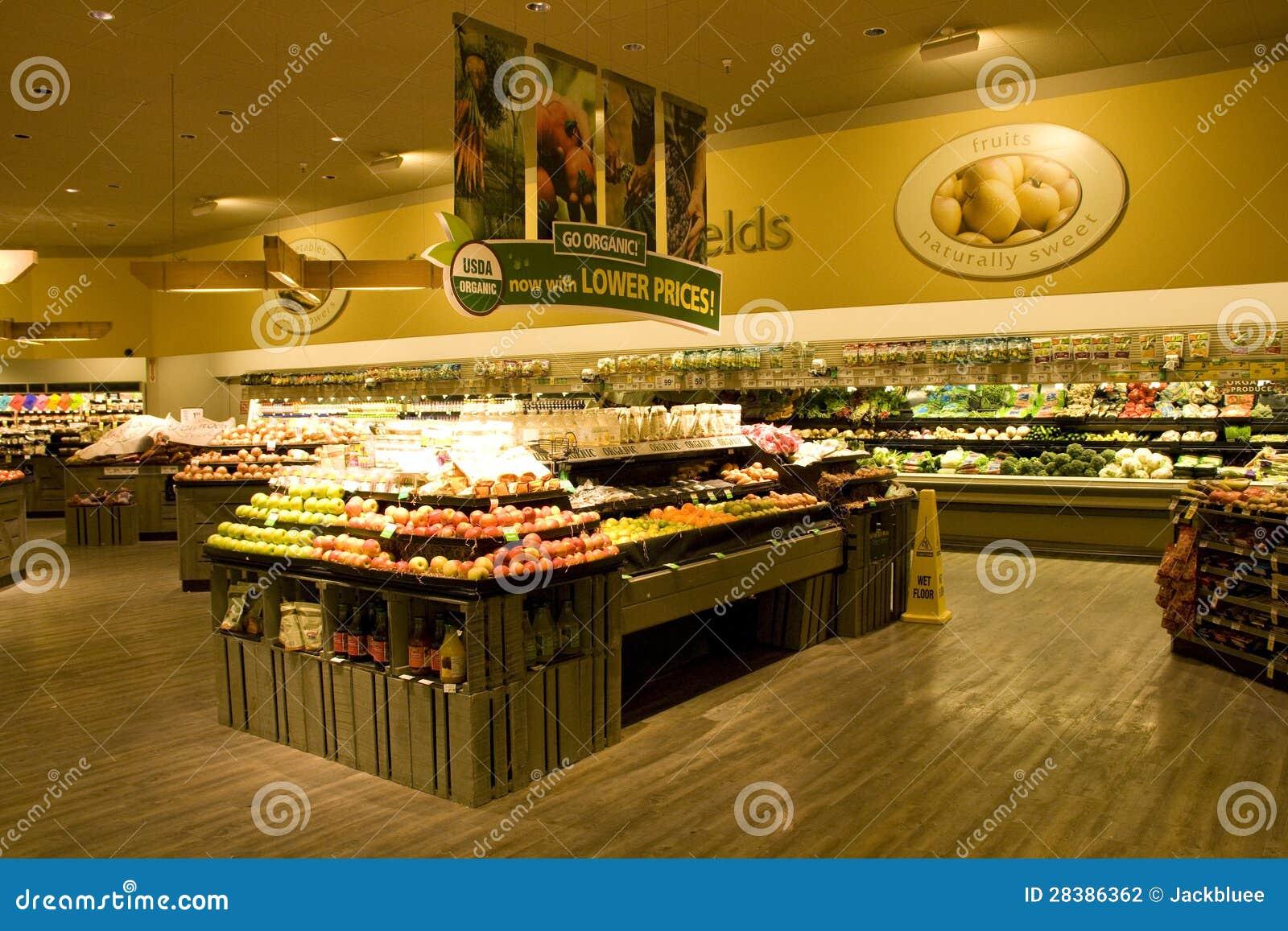 Supermarché d épicerie