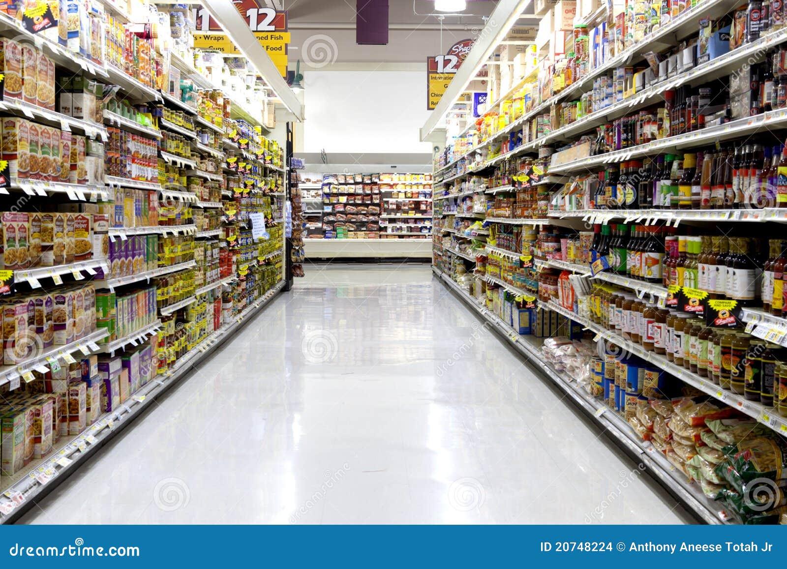 Supermarket Editorial Stock Image Image 20748224
