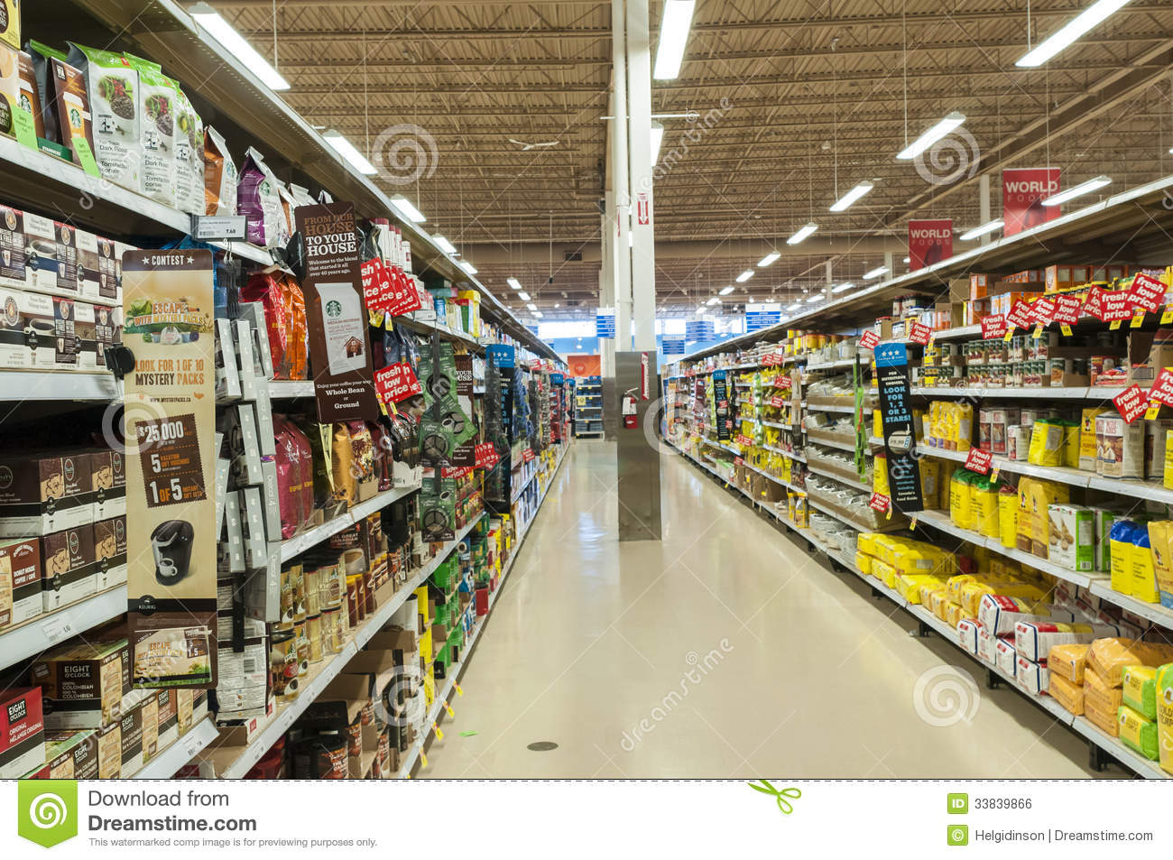 Pin Grocery Aisle Signs Interior Market Design Markers ...