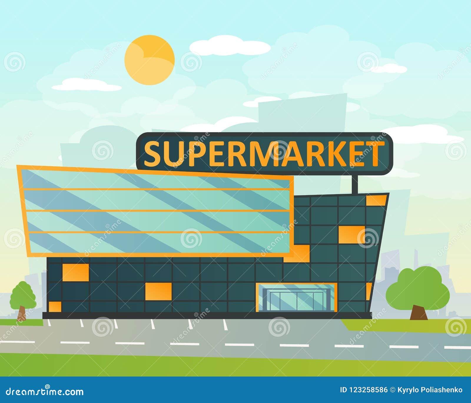 Supermarket, mieszkanie styl