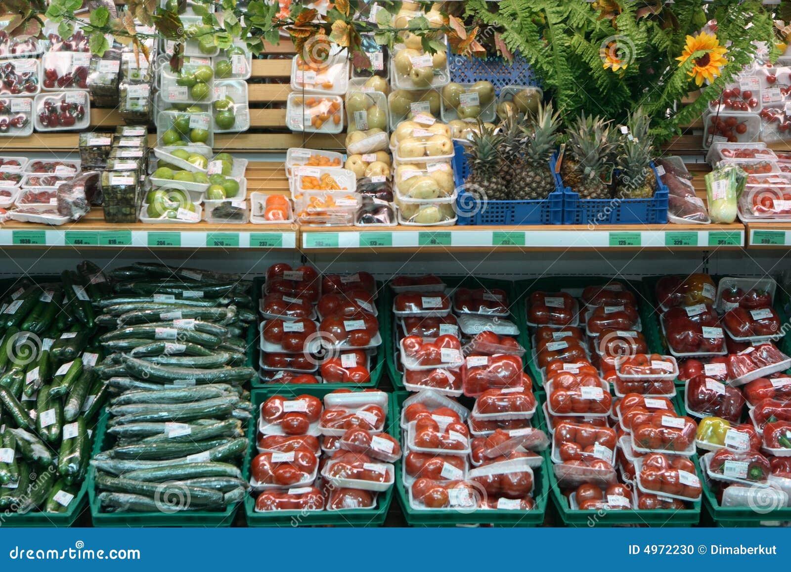 Supermarketgrönsaker