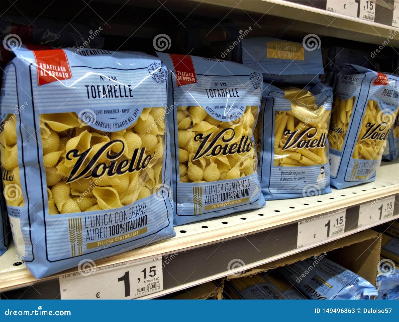 Supermercado de Auchan em Roma