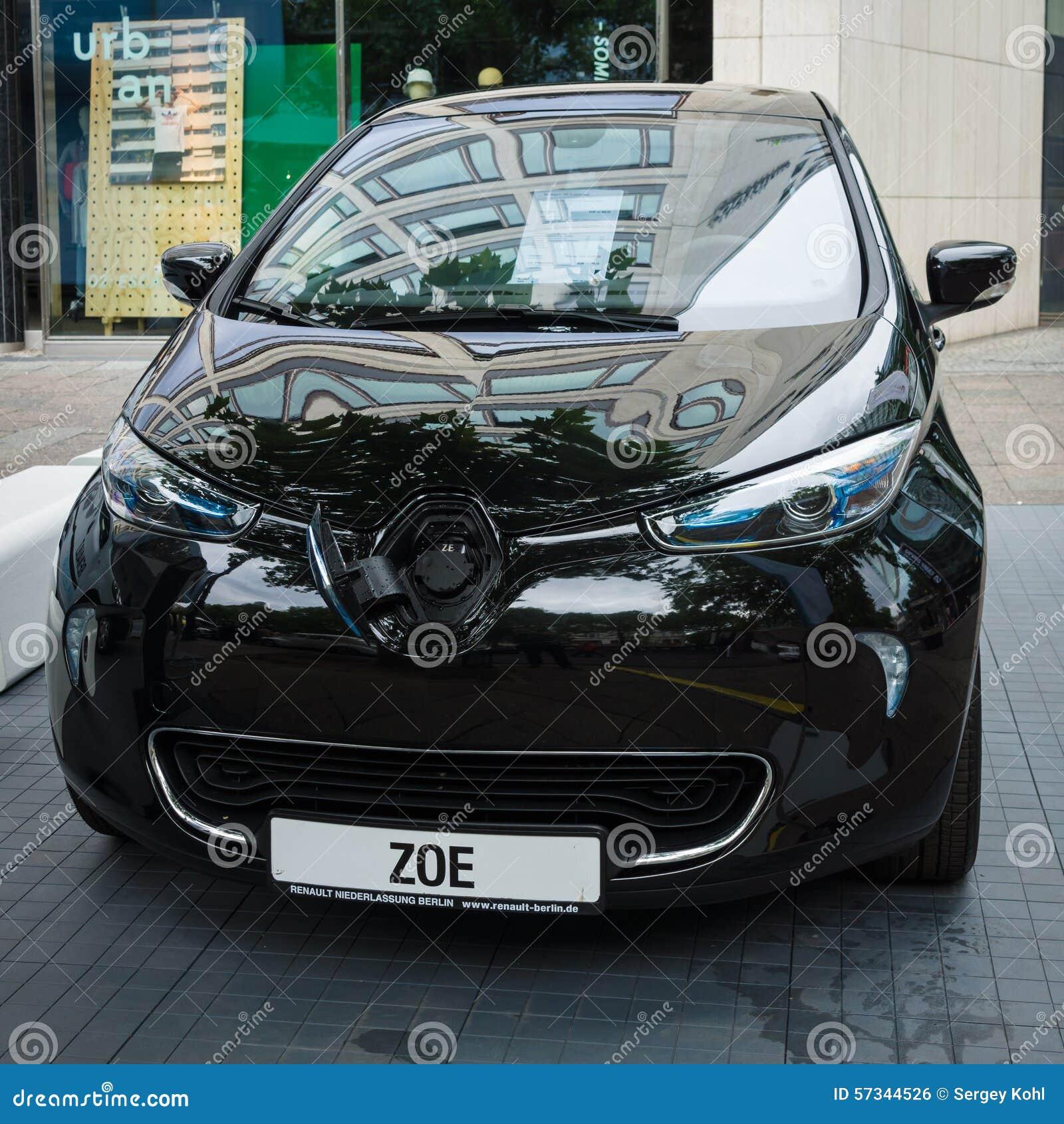 Supermini Elektrische Auto Renault Zoe Redactionele Foto