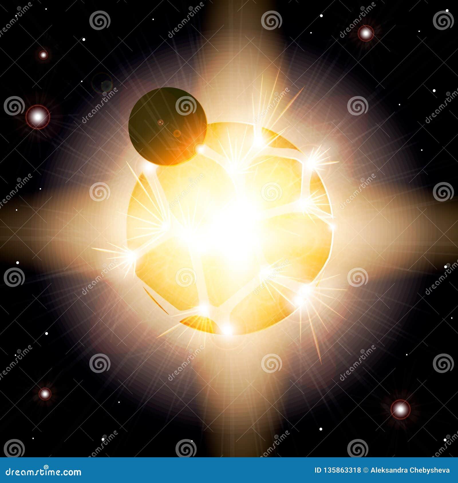 Supernova L explosion de la planète Armageddon dans l espace extra-atmosphérique sur une planète éloignée