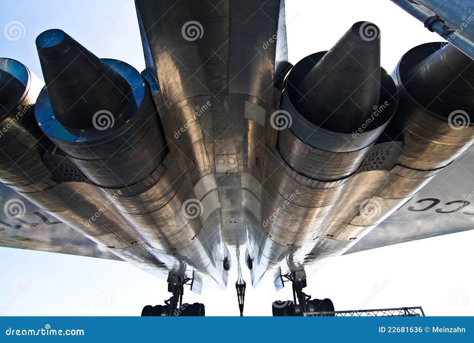 Supersonische vliegtuigen Tupolev Turkije-144