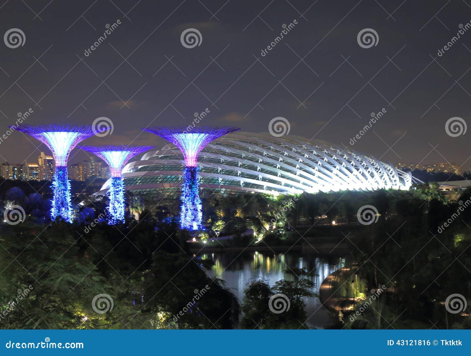 Supertreebosje en Bloem Dorm Singapore