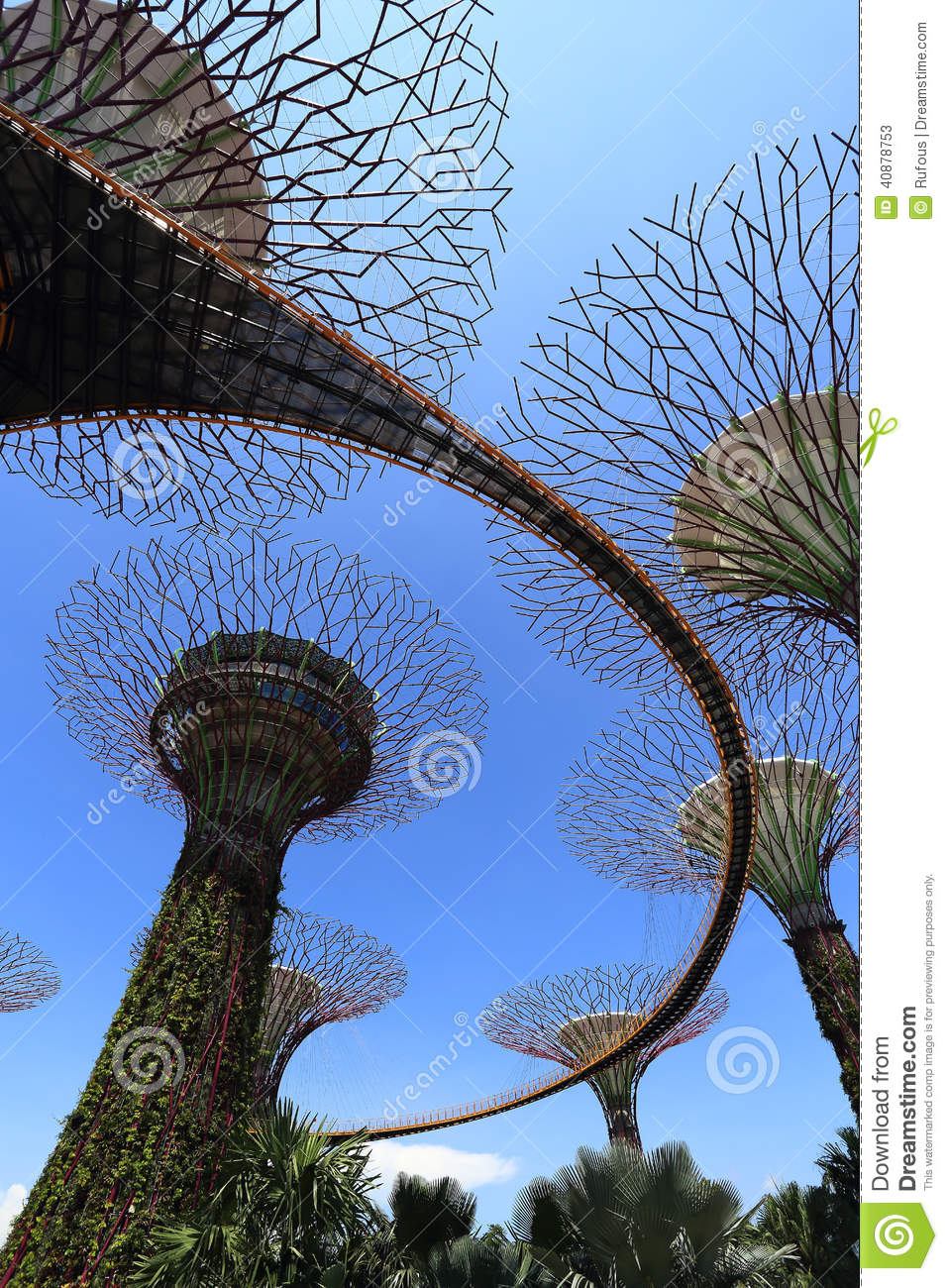 The Supertrees Grove at Gardens by the Bay