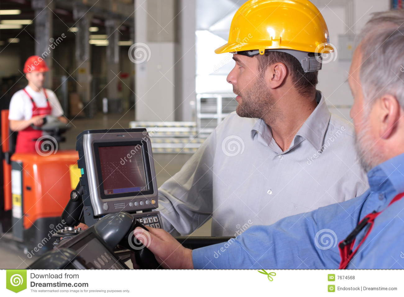 Supervisor and engineer