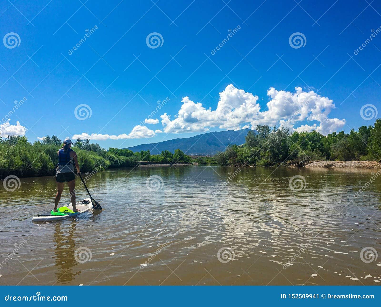 SUPing abaixo de Rio Grande