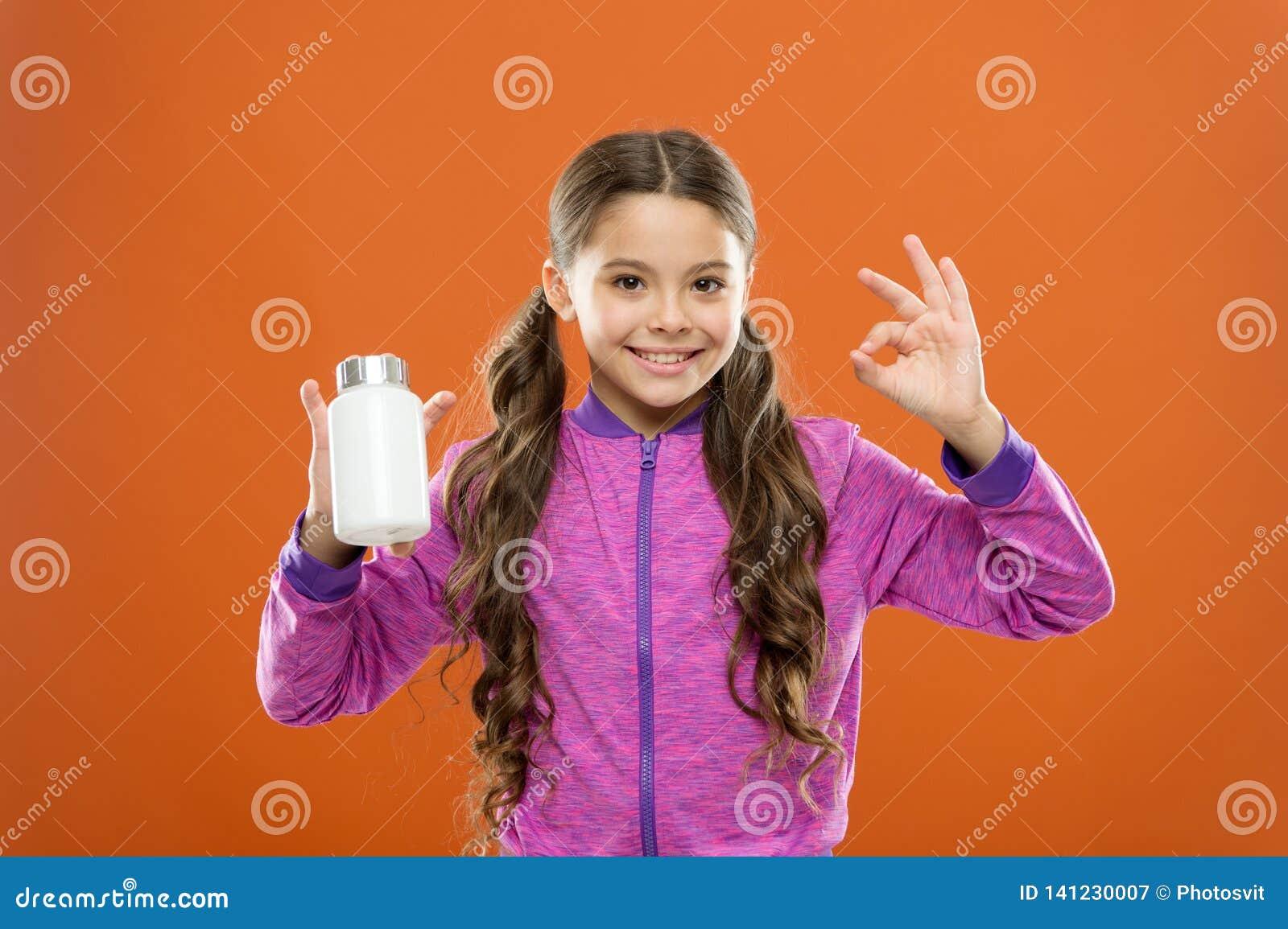 Suplementos de la vitamina de la toma Fórmula del multivitamin completo y de los niños minerales Botella de las medicinas del con