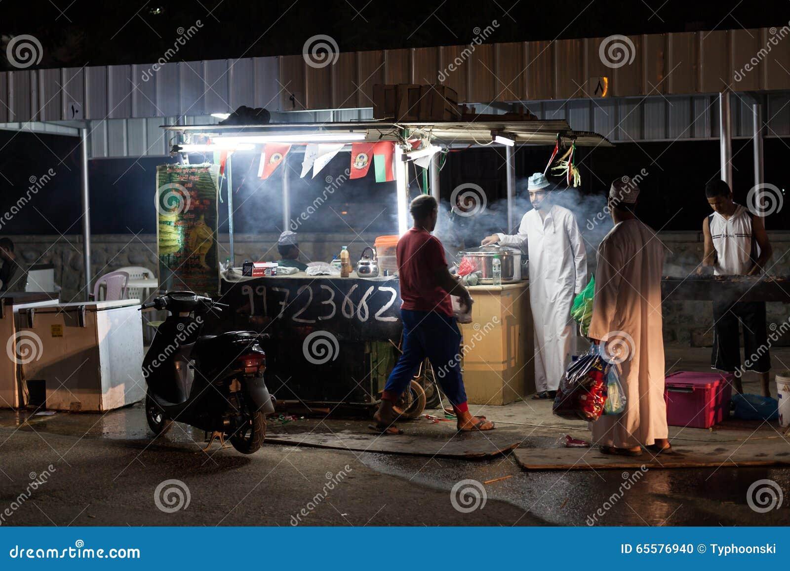 Suporte do alimento em Nizwa, Omã