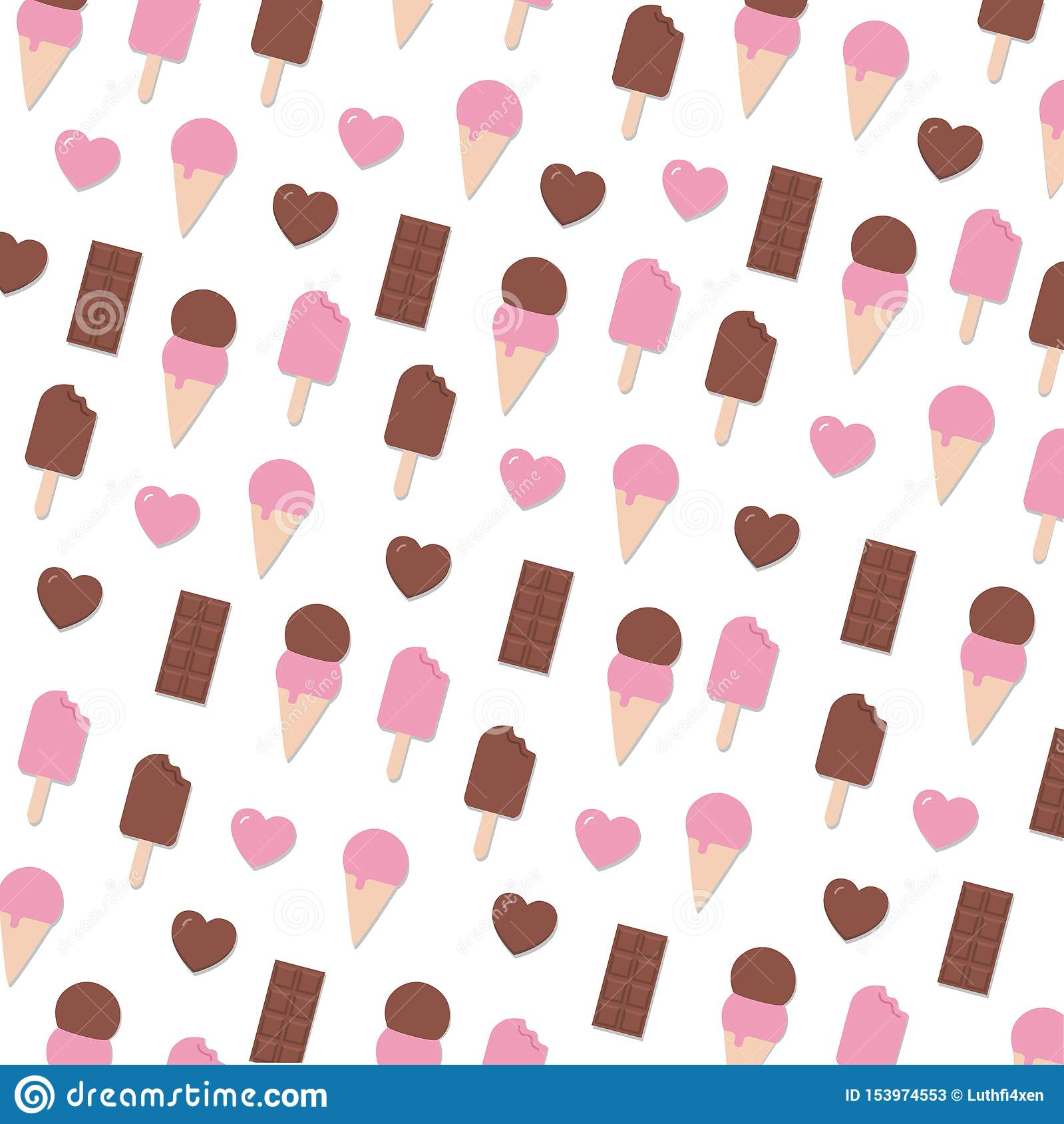 Suposición Valentine Day Seamless Pattern