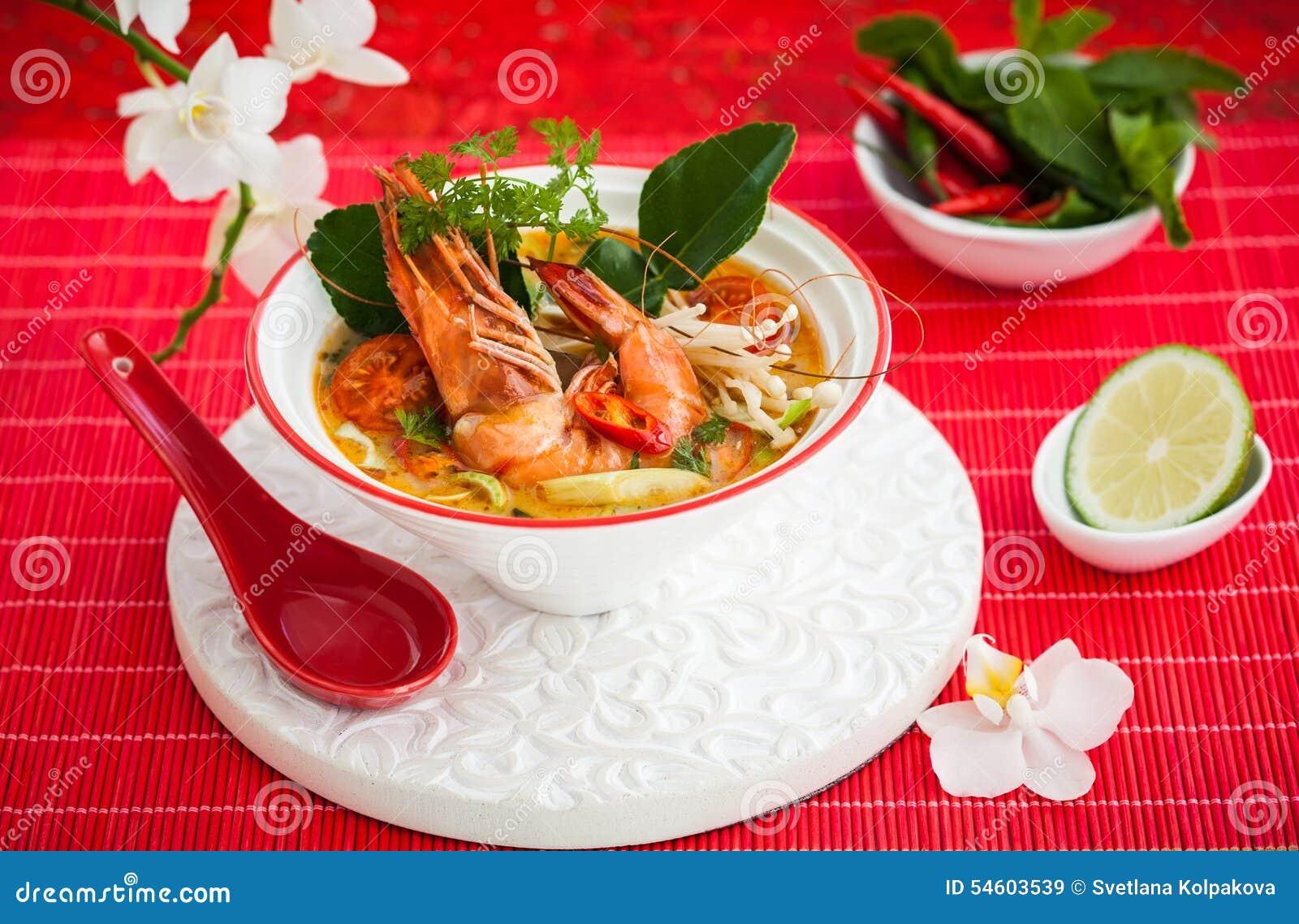 Suppe Tom-Yum