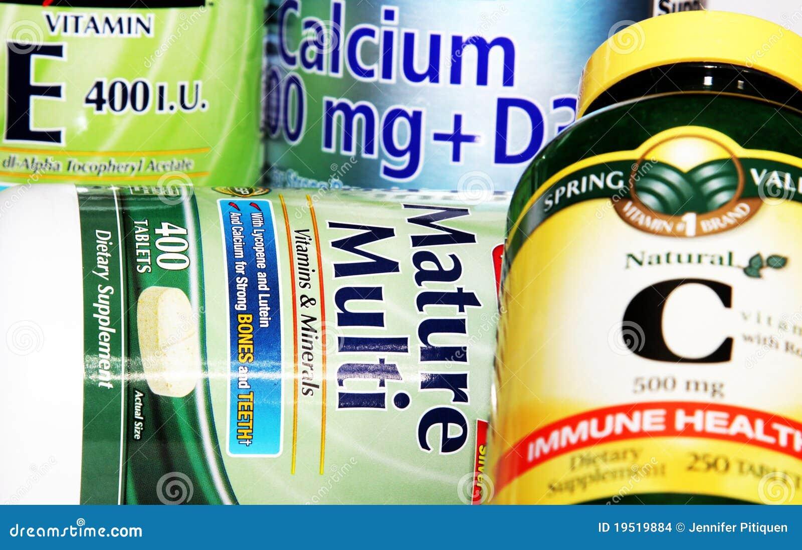 Suppléments de vitamine