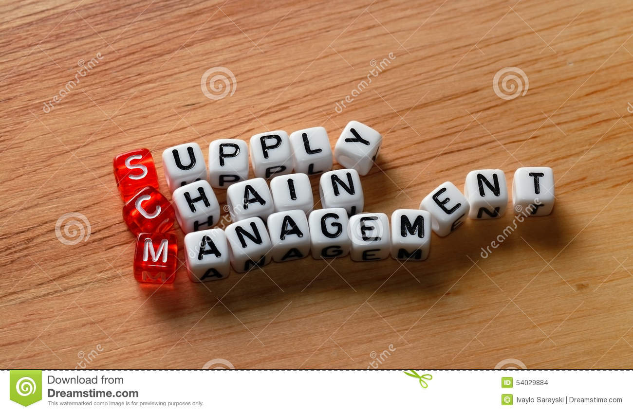 Supply chain management de SCM sur le bois