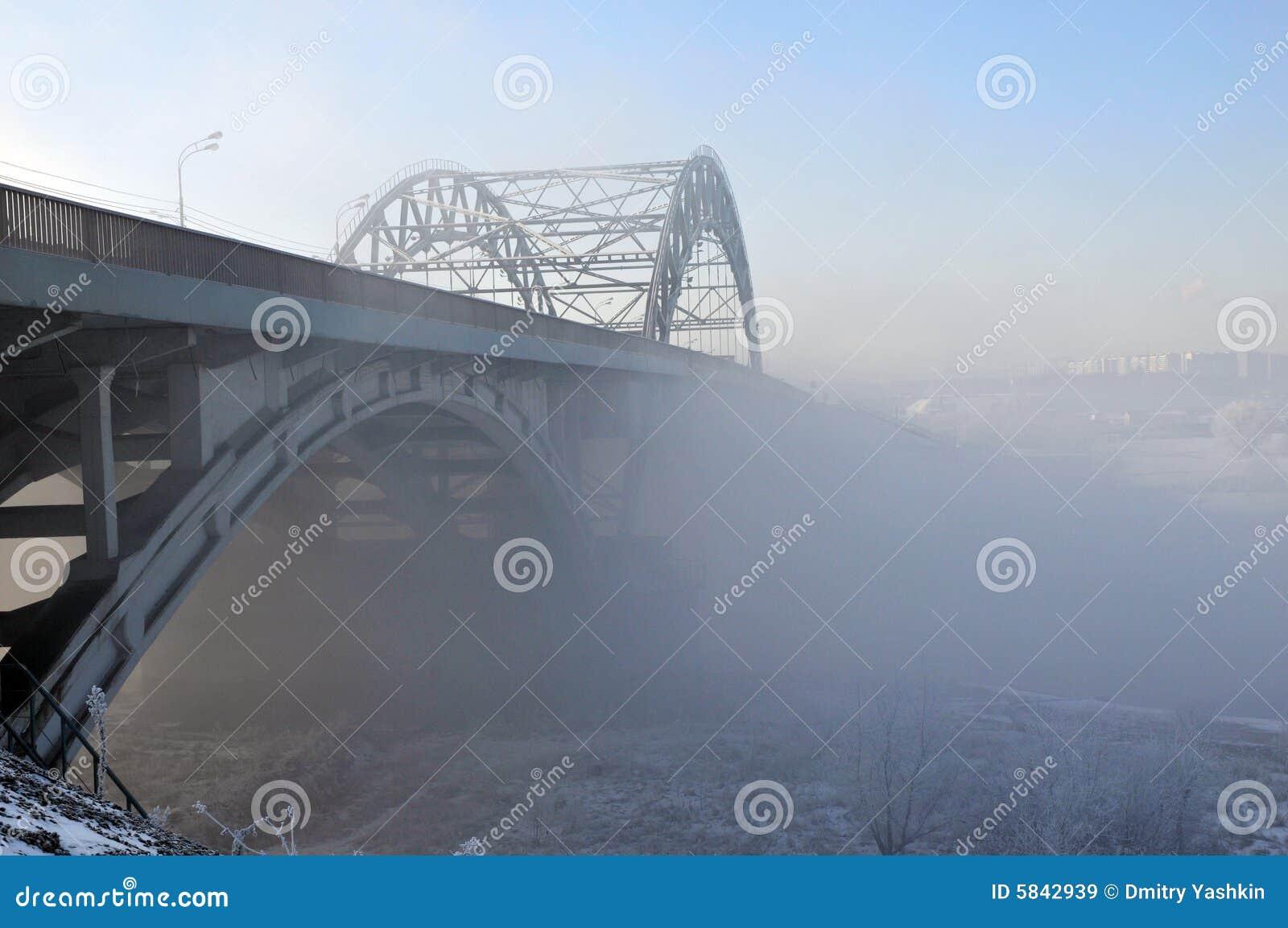 Support of the bridge