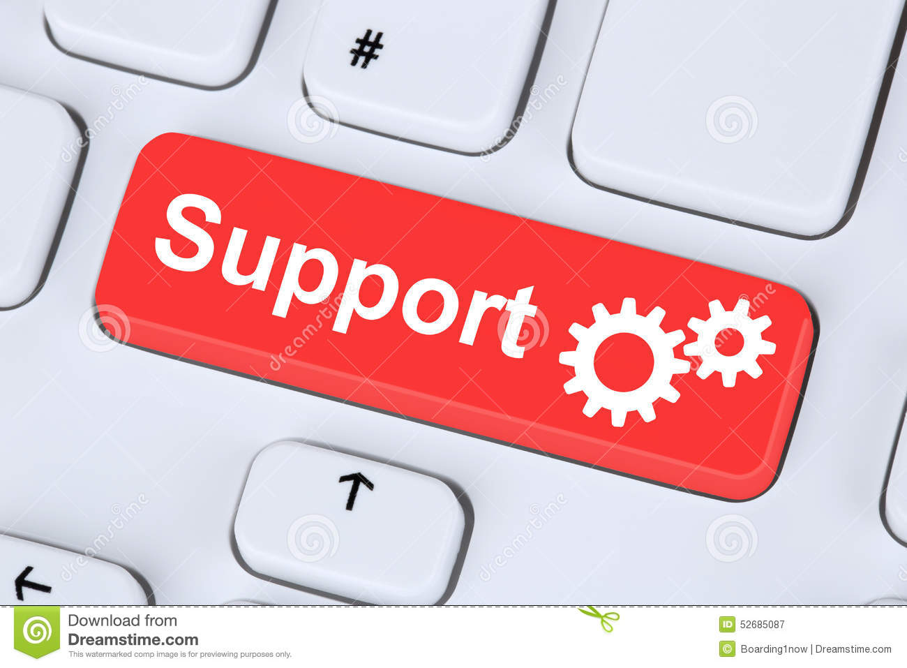 Download Support Customer Service Help On The Internet Stock Image   Image  Of Contact, Online
