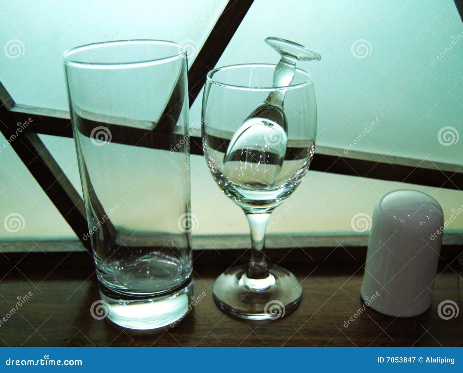 Support de cuvette et de Toothpick de boissons en verre de vin