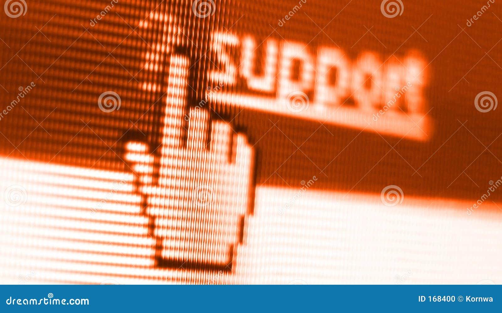 Support screen shot