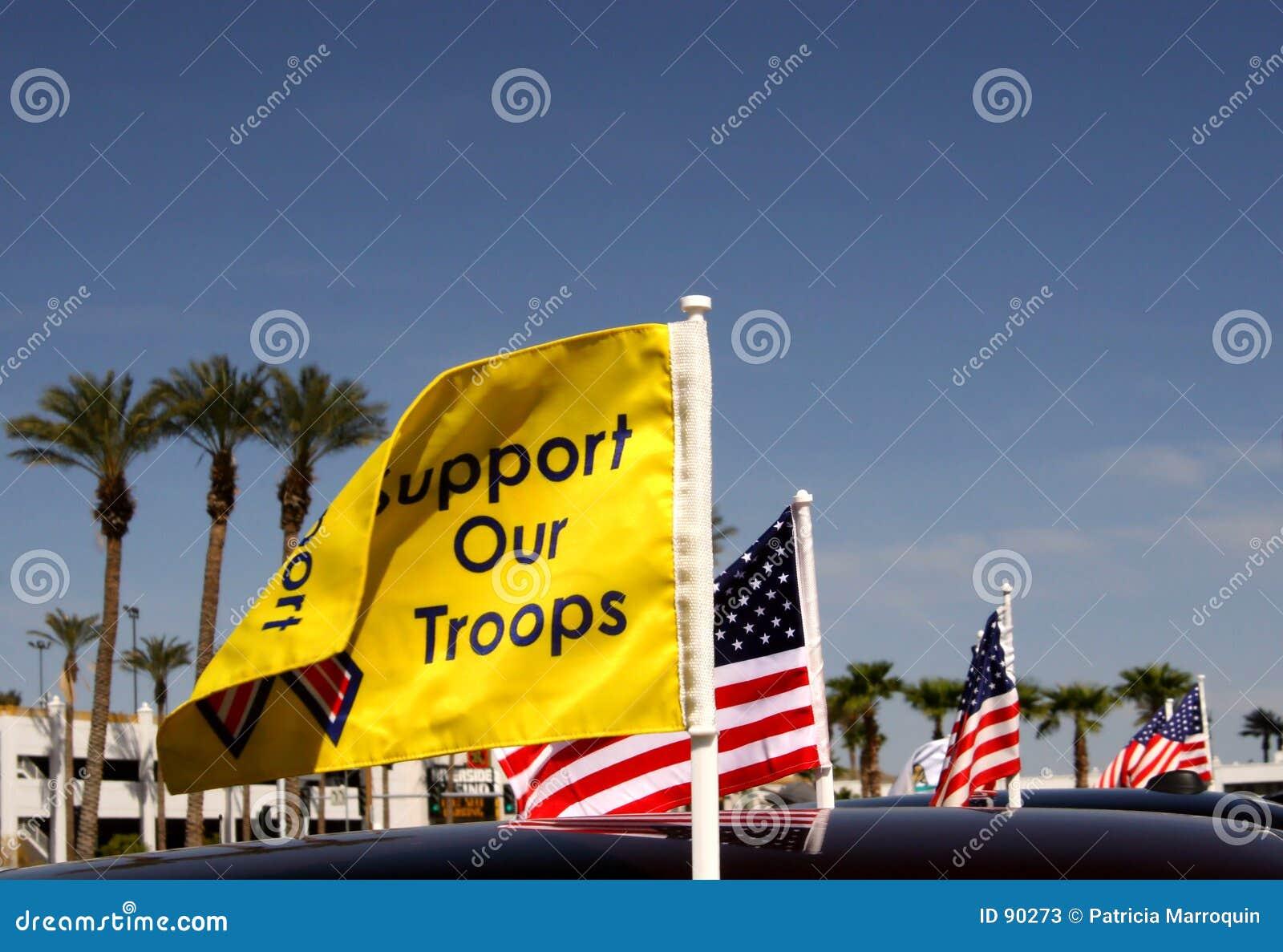 Supporti le nostre truppe