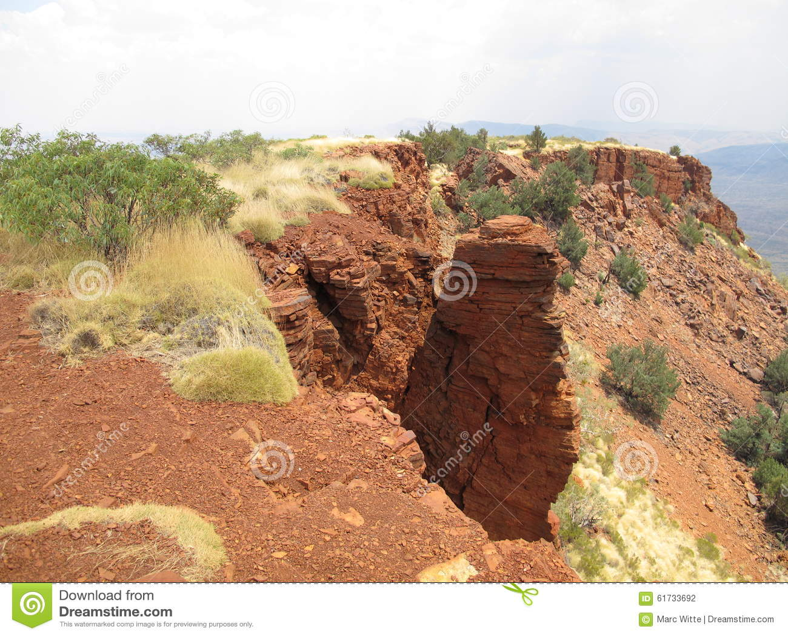 Supporto Bruce vicino al parco nazionale di Karijini, Australia occidentale