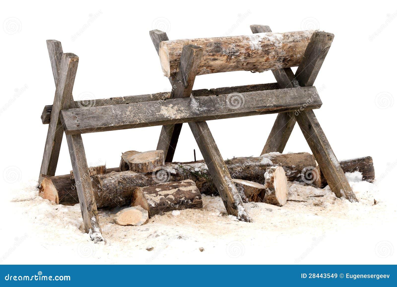 Supporto di legno di collegamento di Sawing
