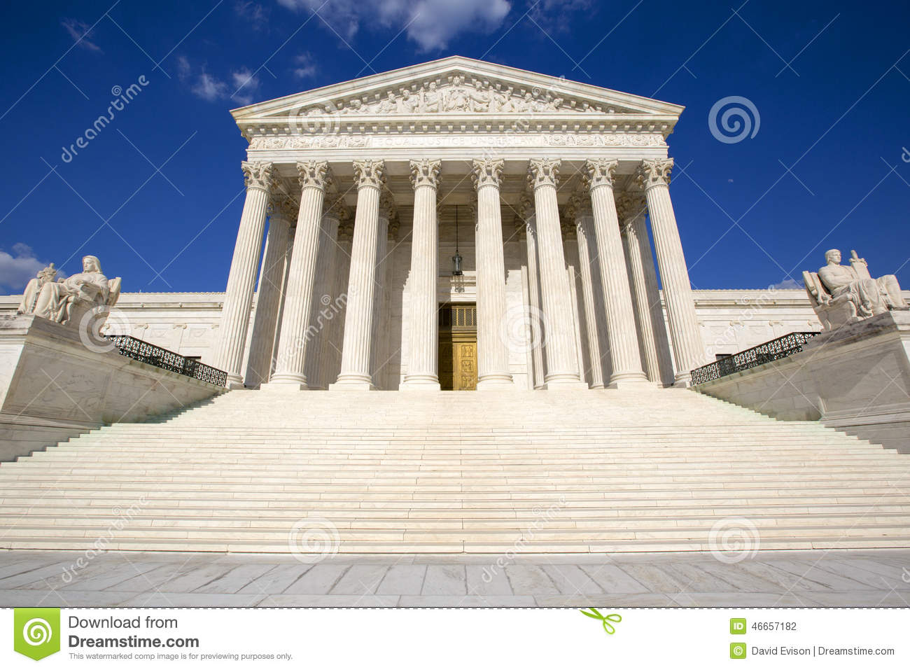 The Supreme courthouse.