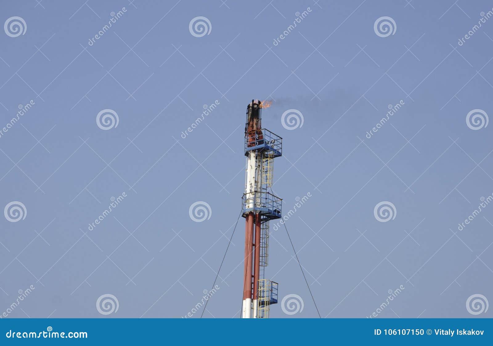 Sur celui et l industrie du gaz foncés dans HDR puissant traitant l effet