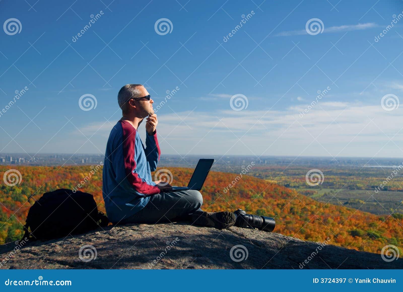 Sur l ordinateur portatif