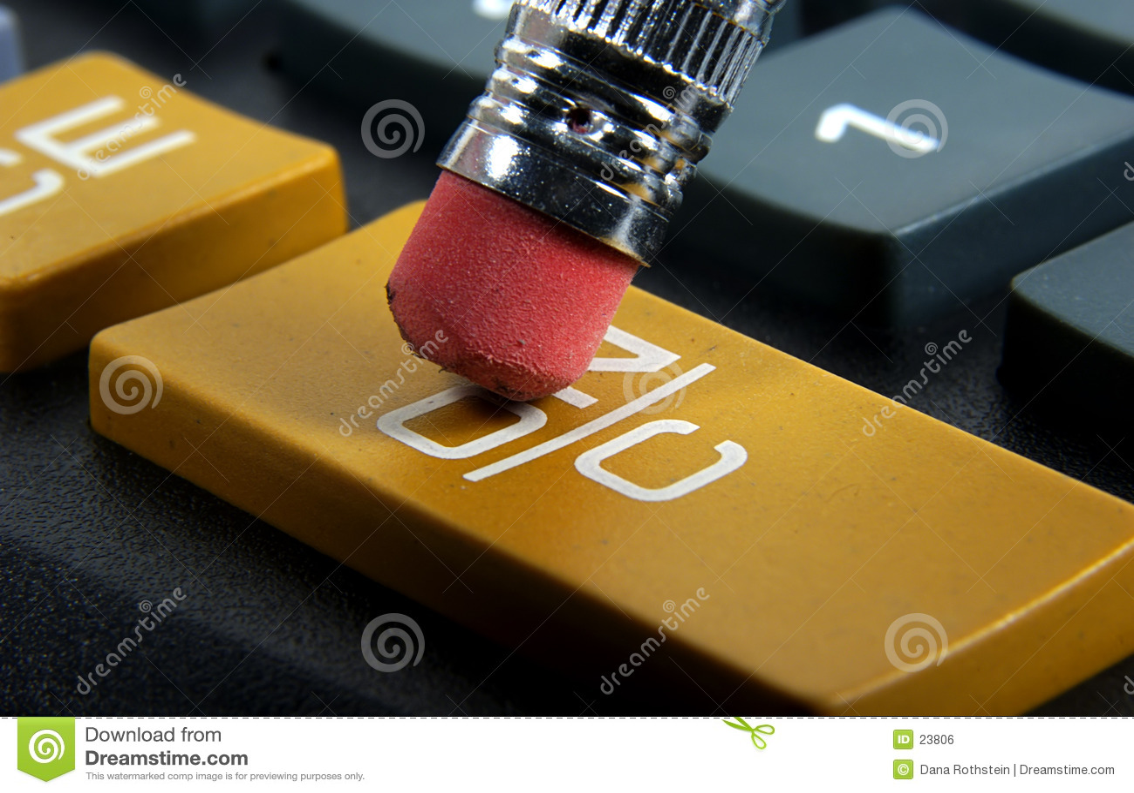 Sur le bouton