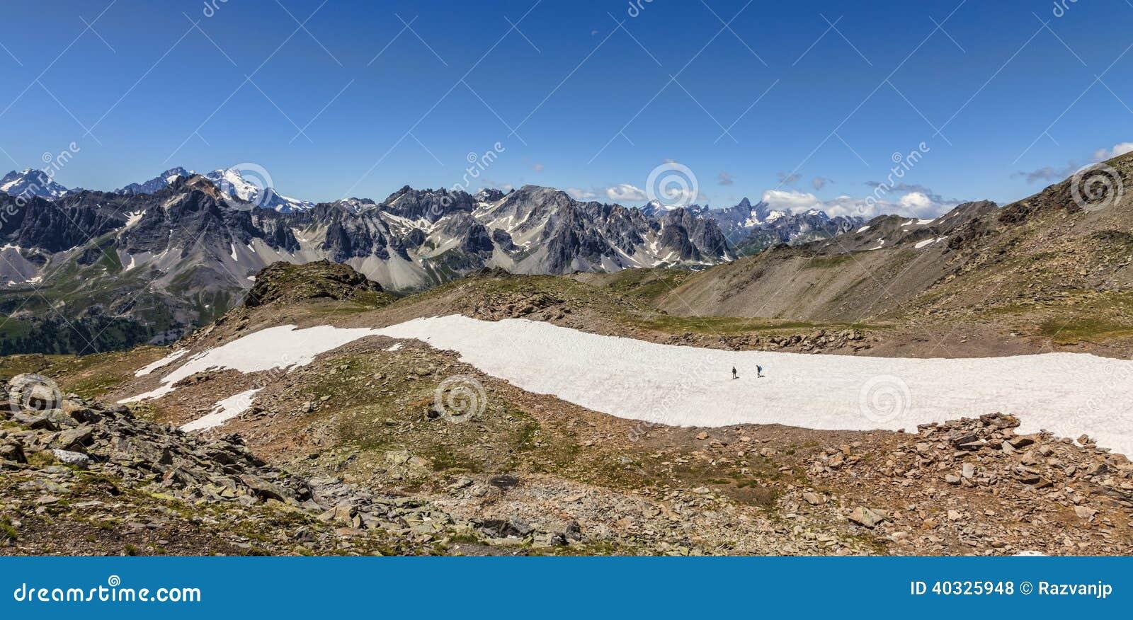 Sur les chemins de montagne
