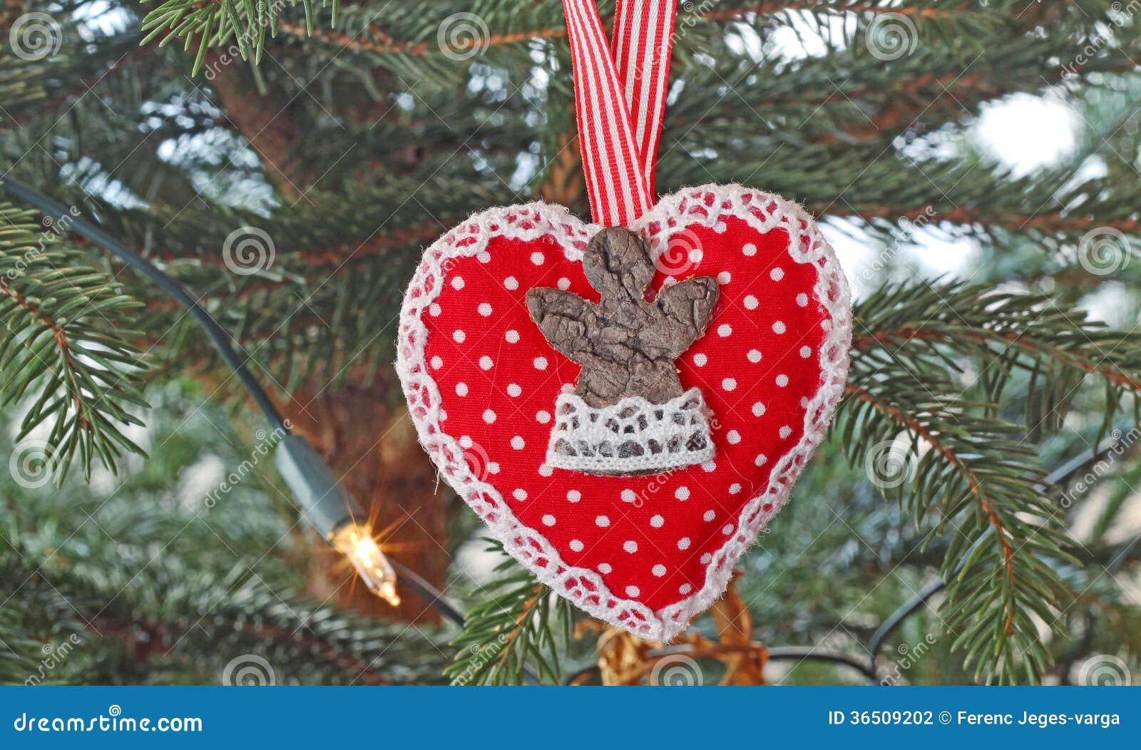 Sur un arbre de Noël